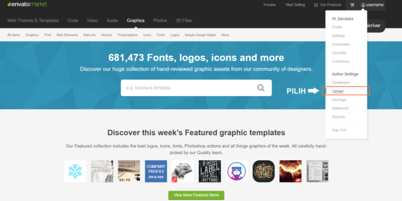 Graphicriver Tutorial : Langkah Submit Logo Template